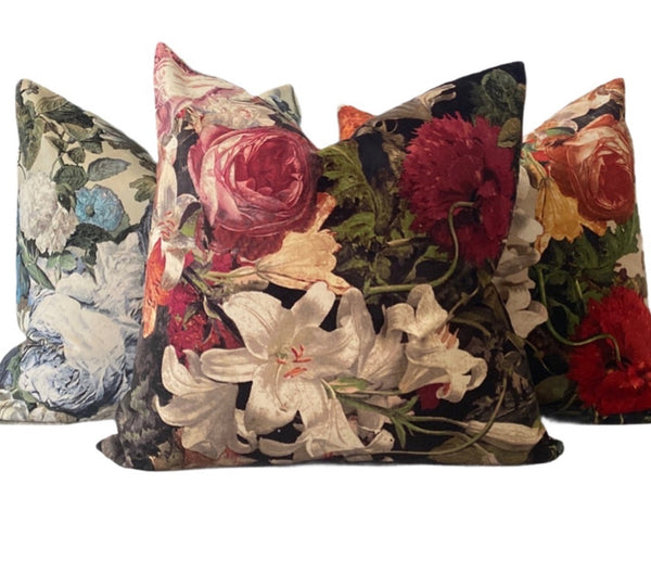 Velvet Garden Velvet Pillows
