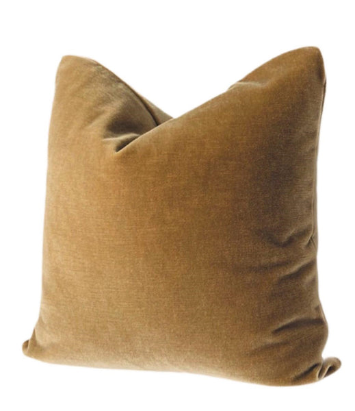 Camel Mohair Pillow
