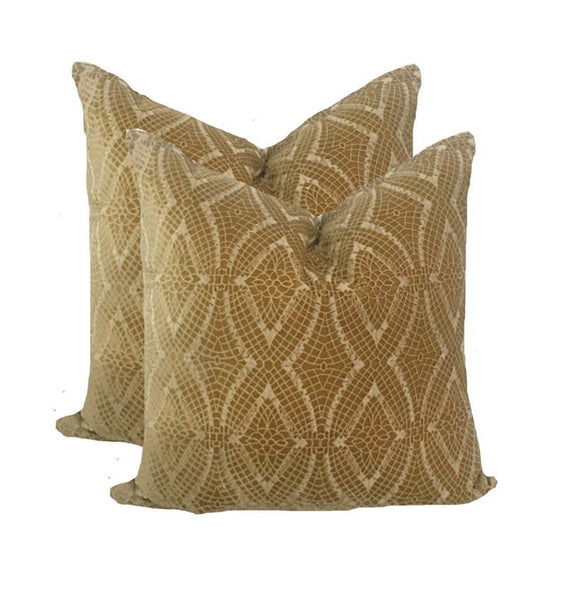 French Silk Velvet Pillow