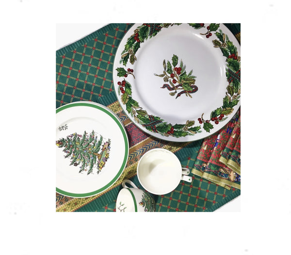 Christmas Italian Table Runner