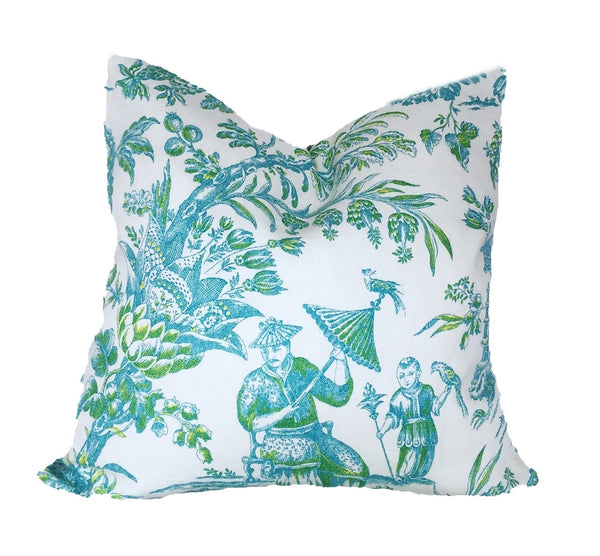 Asian Arcadia Pillow
