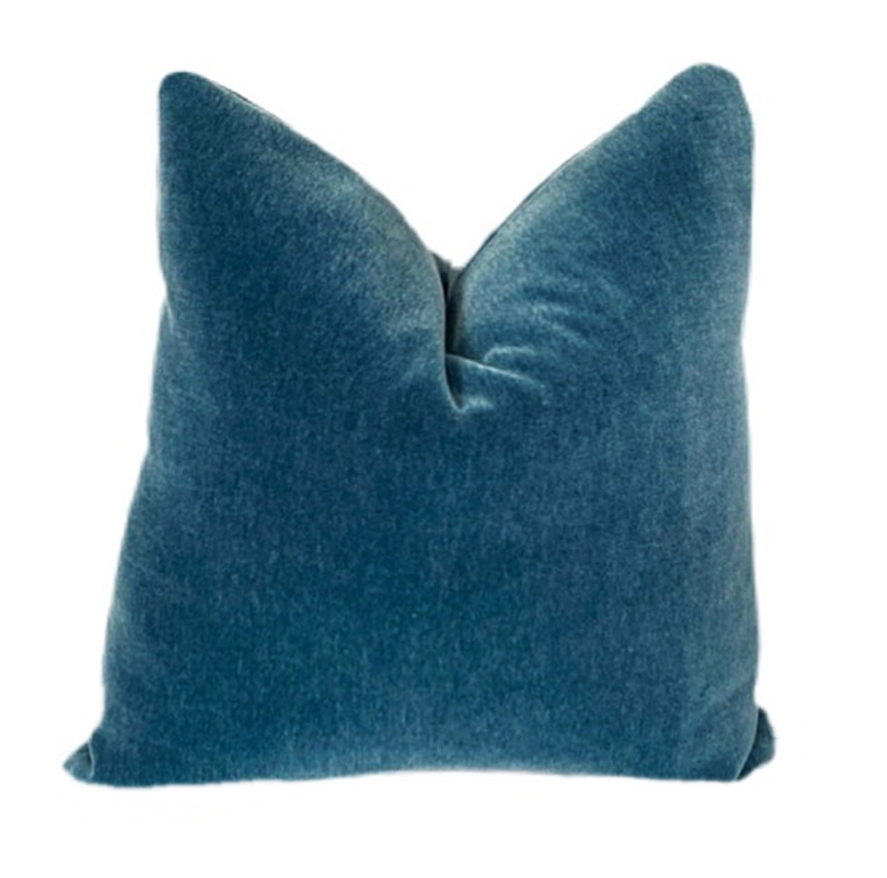 Pacific Blue Mohair Pillow