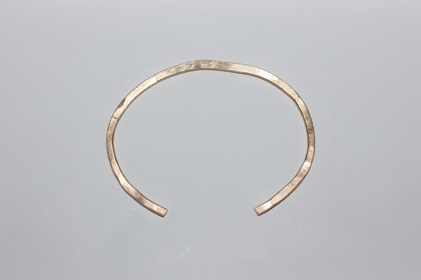 Gold Hammered Cuff