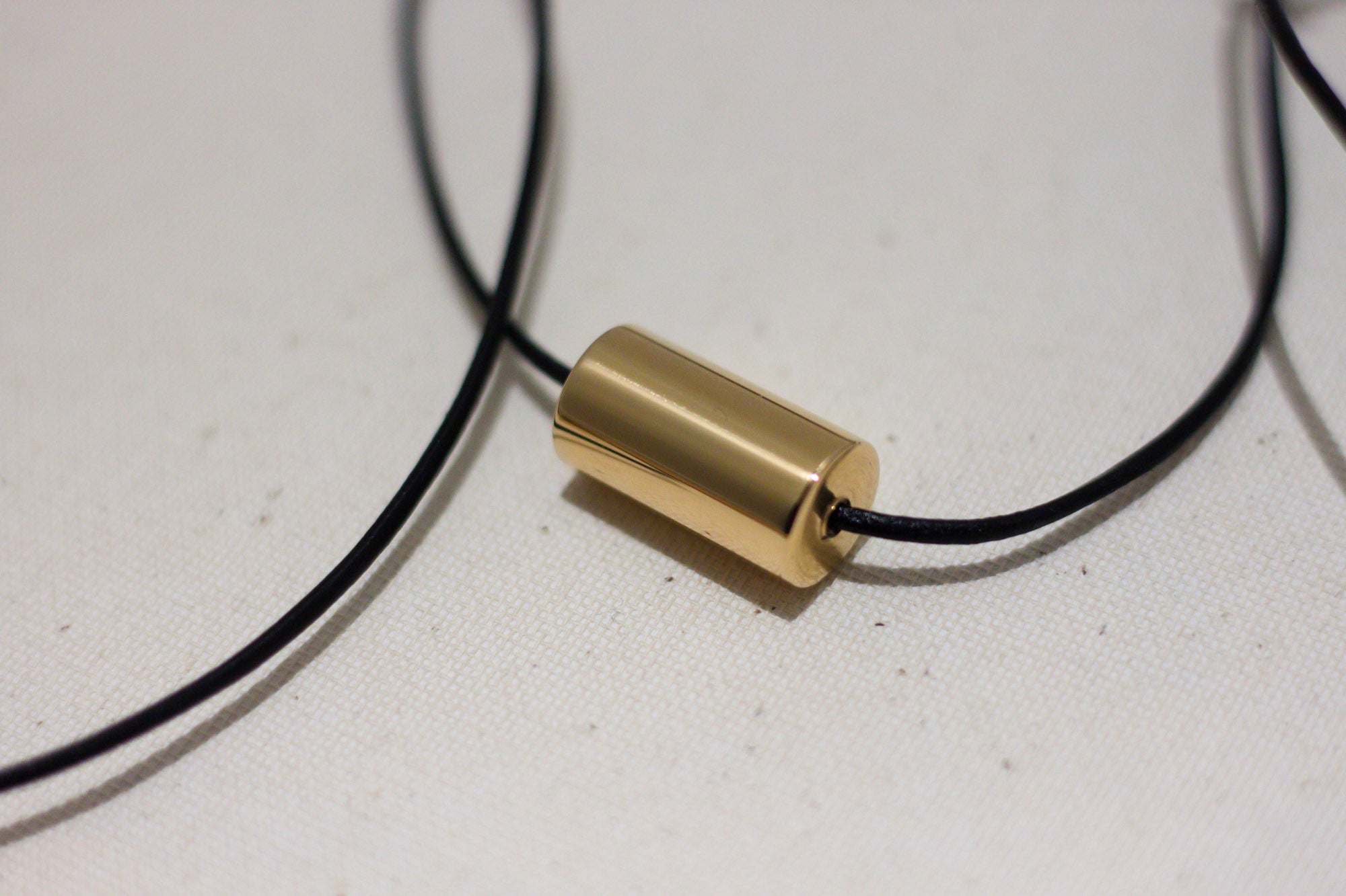 Brass CNC lathed Necklace