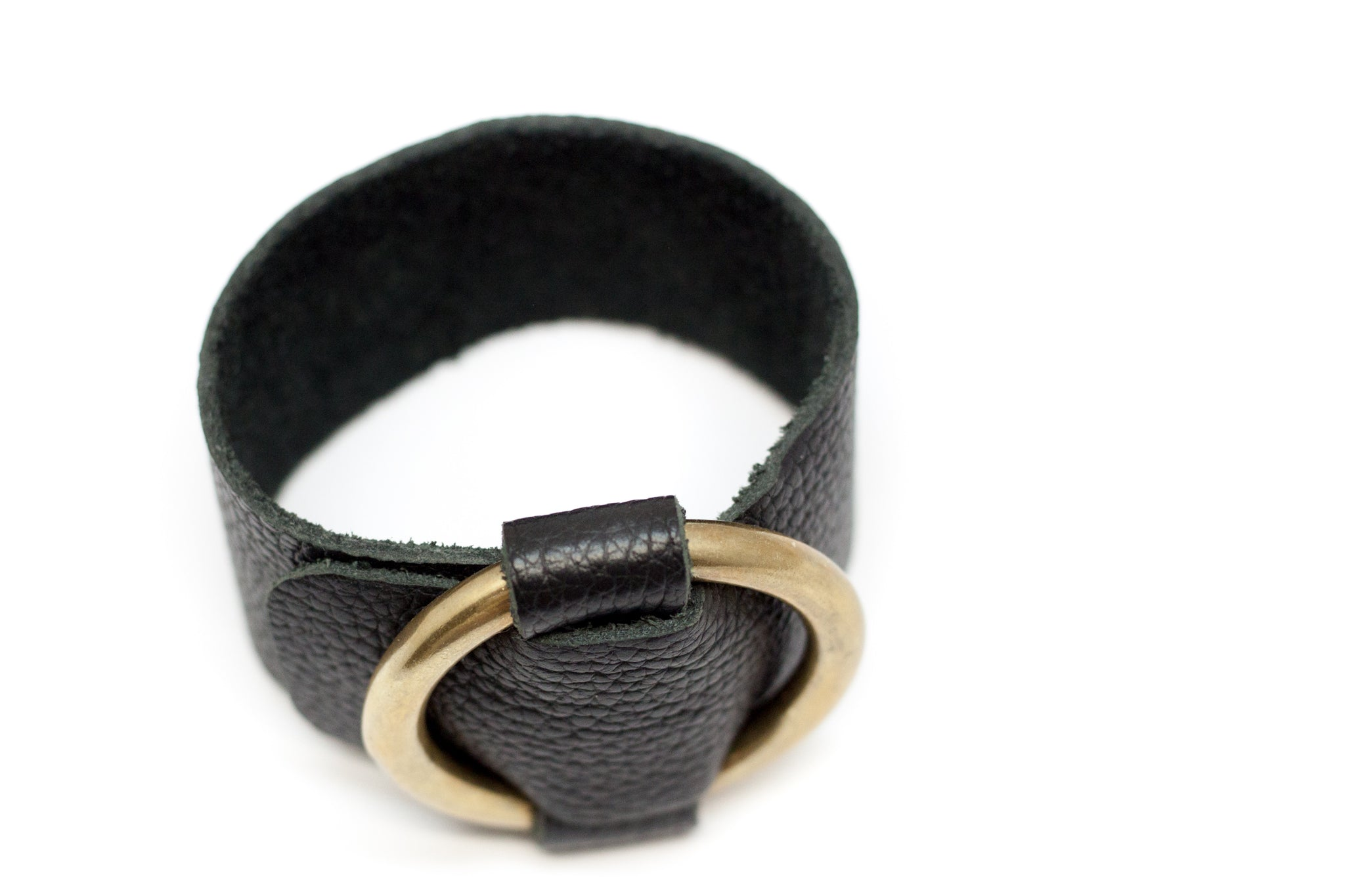 Brass and Leather wrap