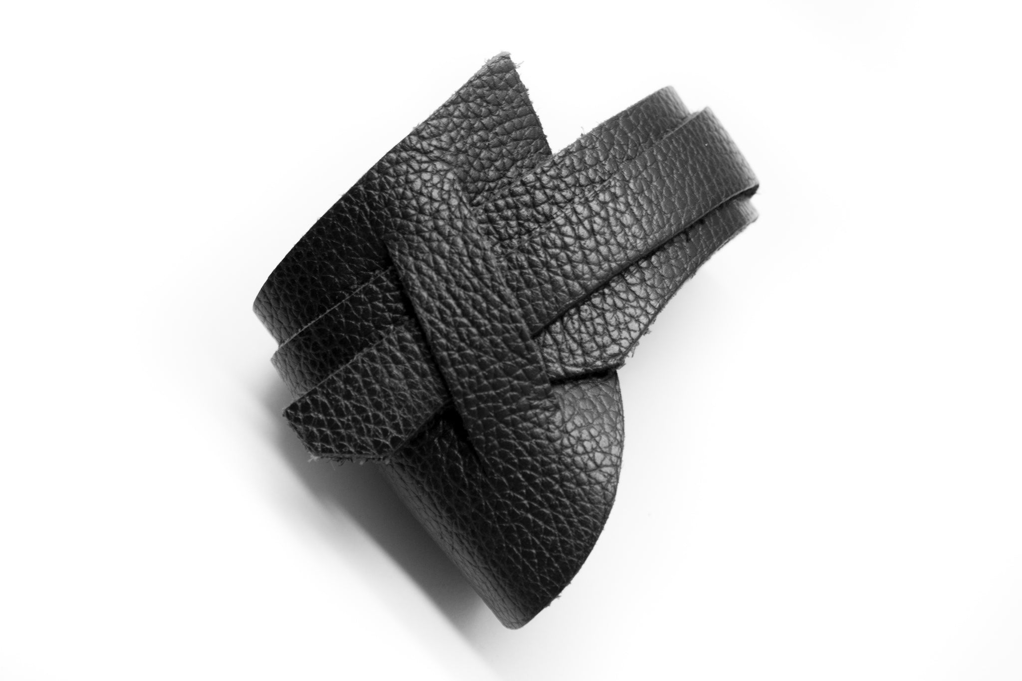 Leather Obi cuff