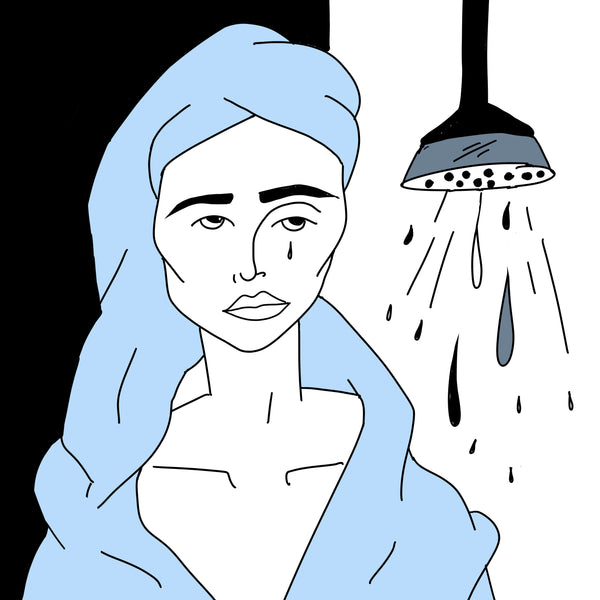 Shower tear