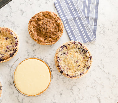 Easy Summer Pie Recipes |  Try Amanda's Creamy Blueberry Pie