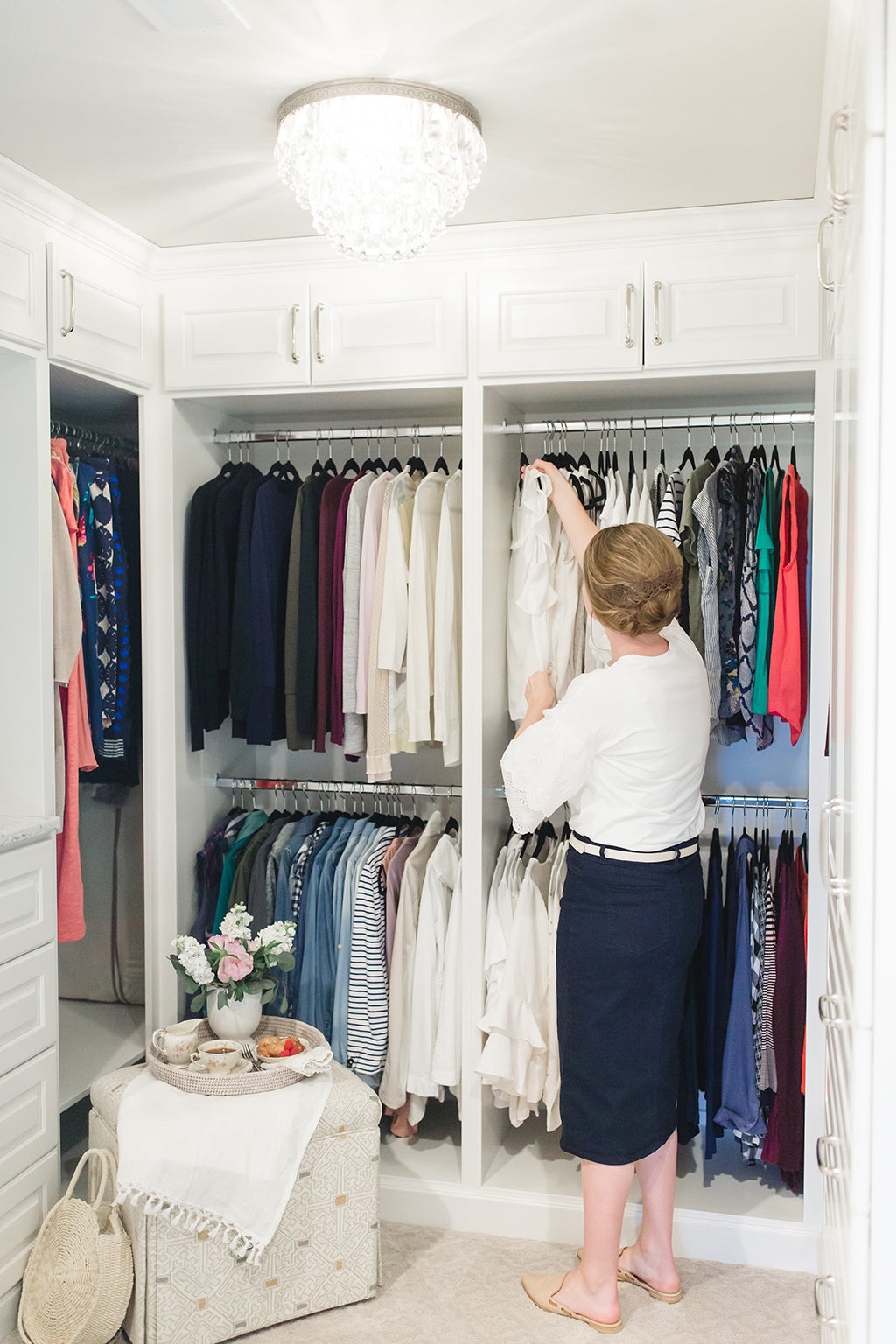 Tips on how to organize your clothes closet!