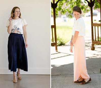 Modest Classic Skirts