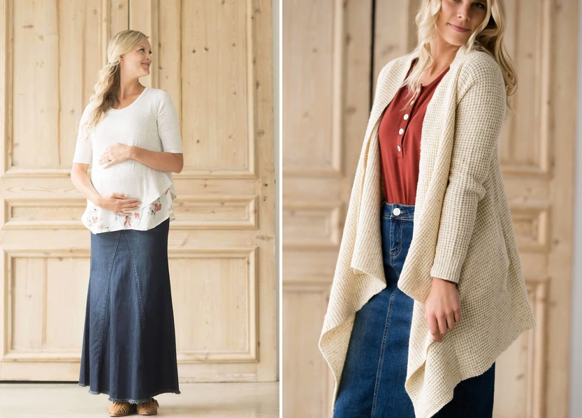 Winter-ready maternity favorites