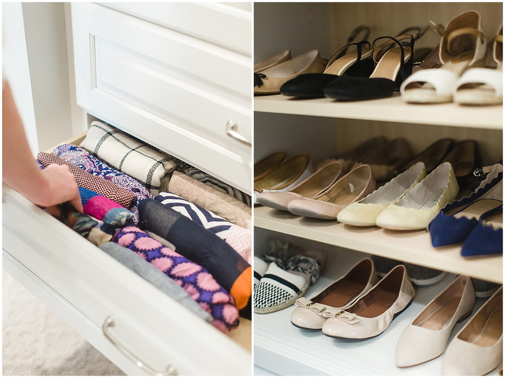 Clean and Declutter Your Closet With The KonMari method that sparks joy!