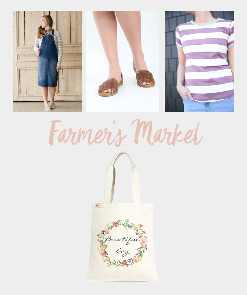 Modest Farmers Market Styles From Inherit Clothing Company Blog