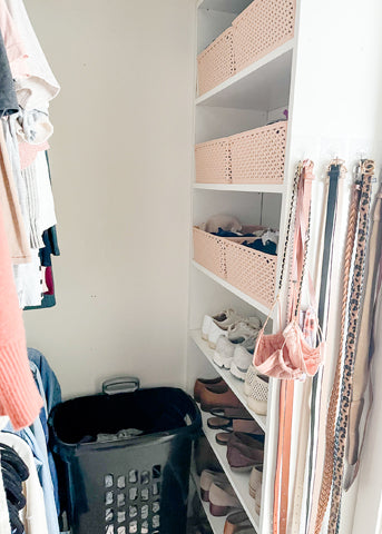 Closet Clean Out After
