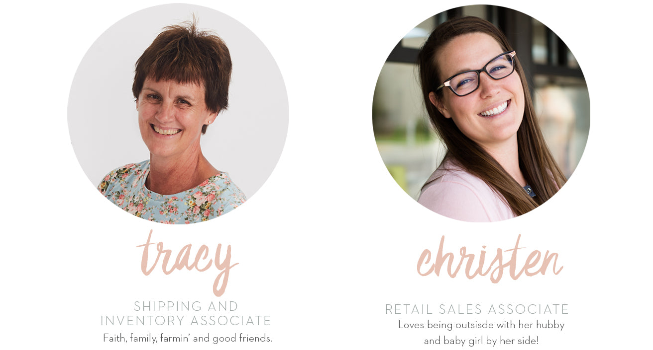 Meet the Team at Inherit Clothing Company. Shop online Modest Women's Clothing!