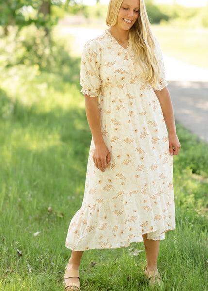 The 'One & Done' Modest Floral Dress