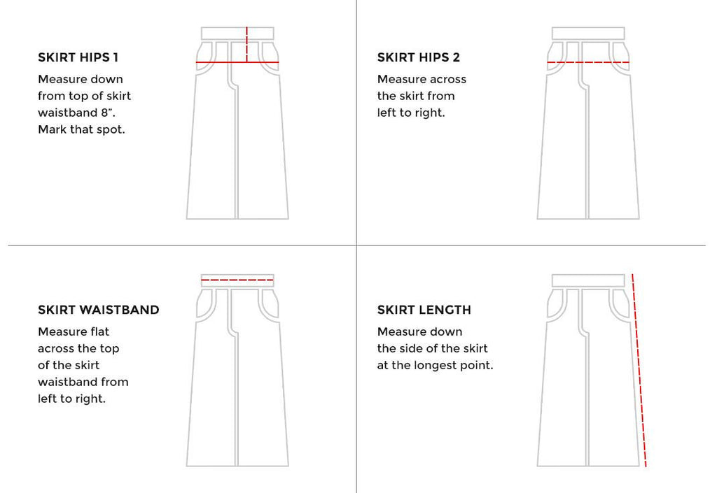 Sizing Guide For Your Modest Apparel The Skirt Outlet