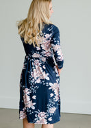 Butter Soft Floral Midi Dress - FINAL SALE