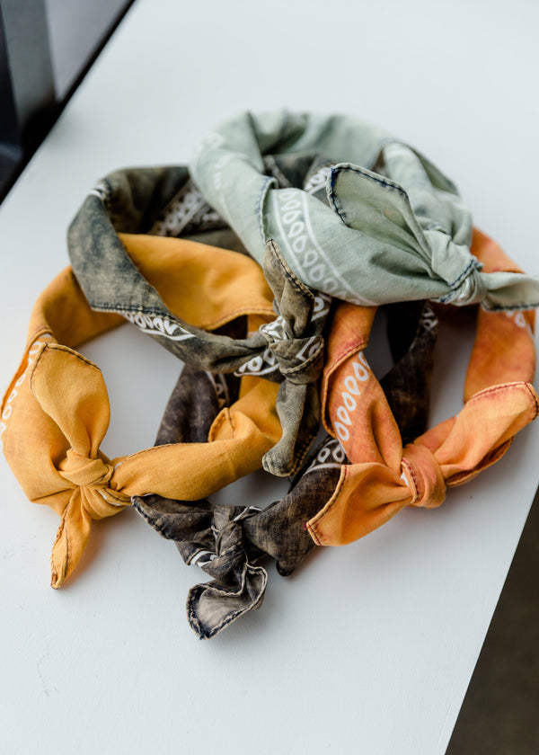 Inherit Co.  | Women's Accessories | Classic Hankerchief Bandana Scarf