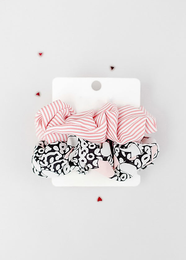 Inherit Co.  | Women's New Arrivals | Valentine Blush Scrunchie Set