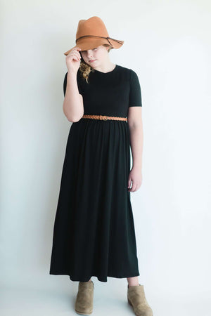 Lily Wardrobe Staple Modest Long or Short Dress