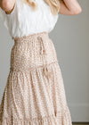 Ruffled Tiered Maxi Skirt - FINAL SALE