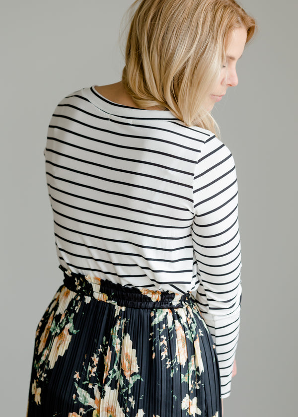 Inherit Co.  | Buttery Soft Striped Top