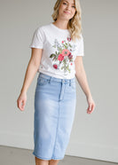 Floral Graphic Short Sleeve Tee