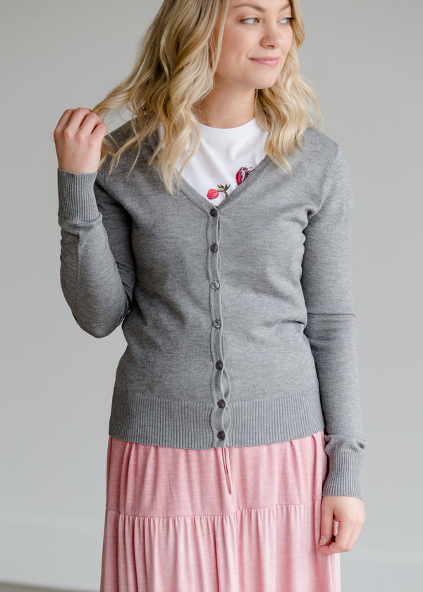 Inherit Co.  | V-Neck Sweater Cardigan