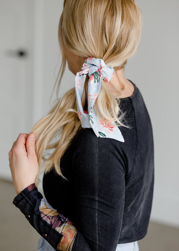 Inherit Co.  | Girls Modest Clothing | Floral Print Scrunchie