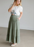 Multi Layer Maxi Skirt - FINAL SALE
