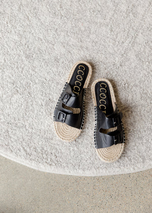 Open Toe Rope Sole Sandal - FINAL SALE