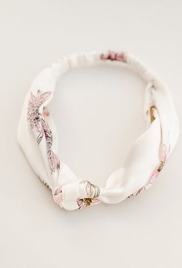 Inherit Co.  | Women's Accessories | Blush Floral Skinny Bandana |
