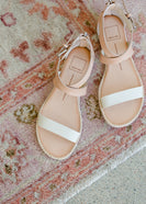 Dolce Vita Ankle Wrap Leather Sandals - FINAL SALE
