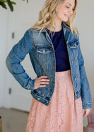 Bamboo Denim Jean Jacket
