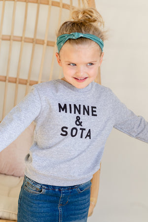 Sota' Gray Toddler Crewneck
