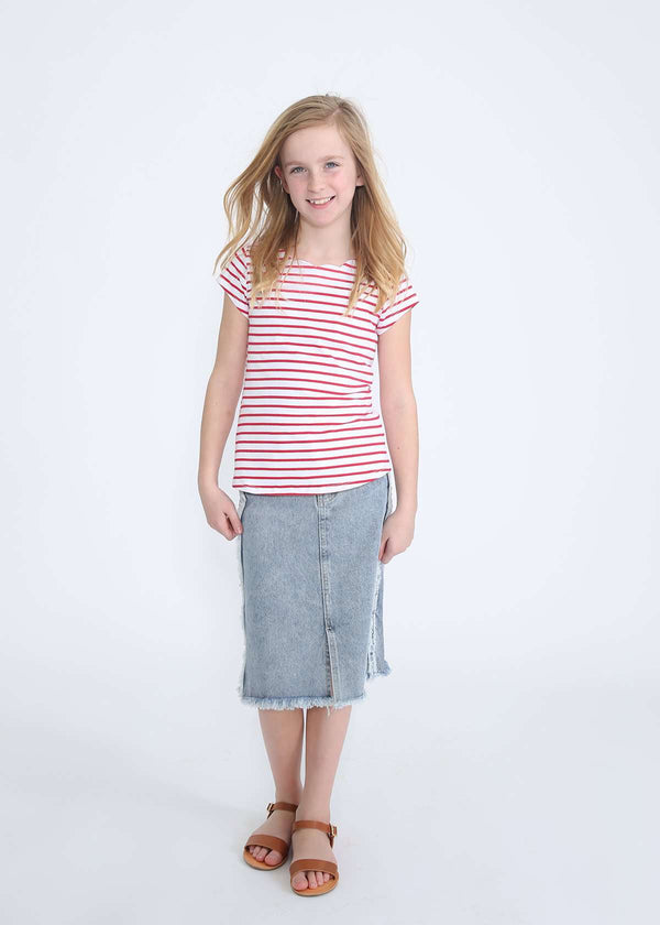 f20388f674 Modest Girls Long and Below The Knee Skirts – Inherit Co.