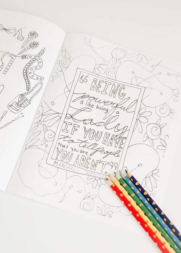 Modest Fashion Coloring Book