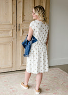 Soft Polka Dot Midi Dress - FINAL SALE
