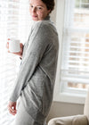 Gray Lightweight Dolman Sweater - FINAL SALE