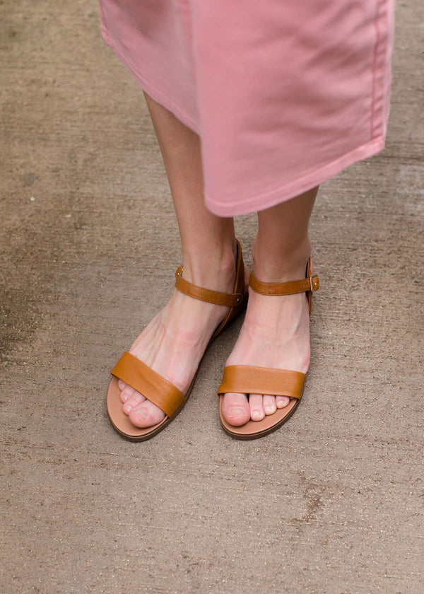 Inherit Co.  | Women's Shoes & Accessories | Timeless Leather Strap Sandal - Steve Madden - FINAL SALE | Steve Madden Leather Strap Women's Sandal