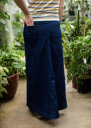 A-Line Dark Denim Modest Skirt
