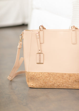 Blush + Cork Tote Bag