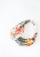 Tropical Floral Knotted Headband
