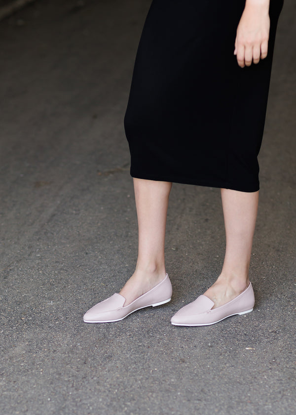 Inherit Co.  | Women's Shoes & Accessories | Audra Dressy Flat Slip On - FINAL SALE | Audra women's dressy pink flat shoe
