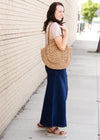 Randi Dark Wash Long Denim Skirt - Final Sale