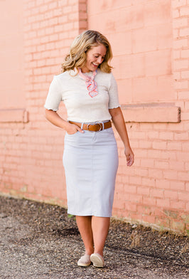 Inherit Co.  | Amy's Birthday Sale! | Serena Midi Skirt |