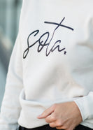 Cream Sota Crewneck Sweatshirt - FINAL SALE