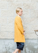 Girls modest Chunky Cable Knit Cardigan