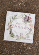 Thankful Wreath Napkin